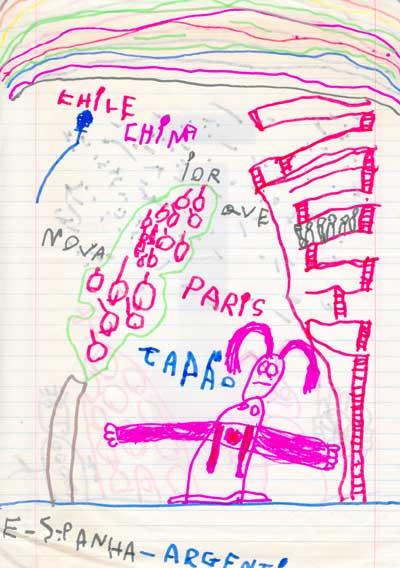 Desenho do Lucas